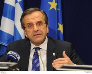 Σαμαράς: Η Ελλάδα επιστρέφει στην κανονικότητα και την ασφάλεια - Συχεχίζονται οι διαπραγματεύσεις