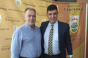 Γκουντενούδης στη Γευγελή: Συνεργασία γειτόνων με αμοιβαίο όφελος