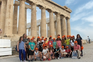 1o Δημοτικό Κιλκίς : Τριήμερη διδακτική επίσκεψη στην Αθήνα