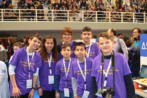 Διάκριση της Ομάδας Ρομποτικής του 1ου Δημοτικού Σχολείου Κιλκίς