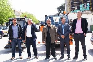 Σημαντική ενίσχυση για την Υπηρεσία Καθαριότητας  του Δήμου Παιονίας