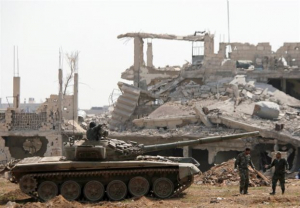 Συρία: 28 οι νεκροί από τις εκρήξεις σε στρατιωτικό αεροδρόμιο στη Χάμα