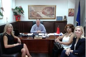 """Συνάντηση εργασίας Γκουντενούδη με τη διοίκηση της """"Ευκράντης"""""""