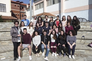 """Θεατρική Ομάδα 2ου ΓΕΛ Κιλκίς:  Το ταξίδι συνεχίζεται... με  την """"Ειρήνη"""" του Αριστοφάνη"""