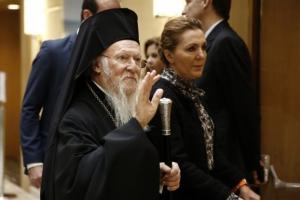 Βαρθολομαίος: Αμετακίνητη η έδρα του Οικουμενικού Πατριαρχείου