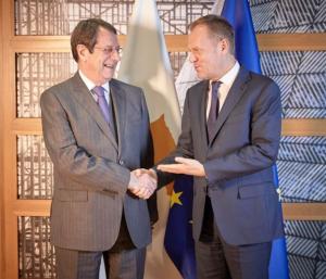 Τουσκ για κυπριακή ΑΟΖ: Να υπάρξει αντίδραση από την ΕΕ