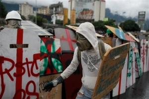 Βενεζουέλα: Χιλιάδες στους δρόμους του Καράκας κατά της βίαιης καταστολής