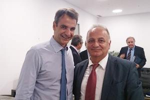 Με τον Κυριάκο Μητσοτάκη ο Παύλος Τονικίδης