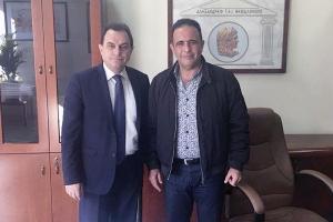 Για την τύχη του παραρτήματος συναντήθηκε με τους πρυτάνεις των ΤΕΙ Σερρών και Θεσσαλονίκης ο βουλευτής Γ. Γεωργαντάς