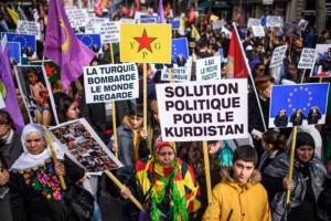 Διαδηλώσεις Κούρδων για την Αφρίν σε ευρωπαϊκές πόλεις