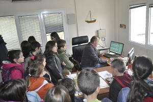 Επίσκεψη μαθητών 7ου Δημοτικού Σχολείου Κιλκίς στο βιολογικό καθαρισμό του Κιλκίς