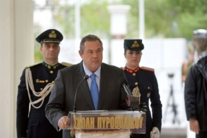 Καμμένος: Η Ελλάδα επενδύει στην ειρήνη μέσω ισχυρών Ενόπλων Δυνάμεων
