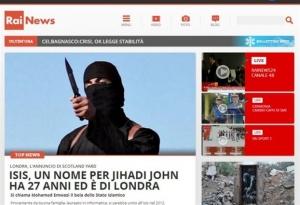 Ιταλία: H Rai δεν θα μεταδίδει τα βίντεο των τζιχαντιστών