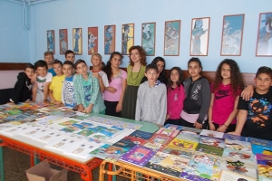 Η συγραφέας Αλεξάνδρα Μητσιάλη στο Δημ. Σχολείο Χέρσου