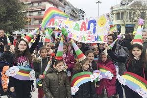 Εντυπωσιακή η παρουσία του Αλέξανδρου στην Αποκριάτικη Παρέλαση του Δήμου!