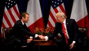 Μακρόν: Να εξαιρεθεί η Ευρώπη από τους αμερικανικούς δασμούς