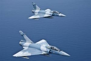 Πτώση αεροσκάφους Mirage 2000 - Σώος ο πιλότος