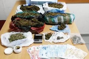 """Κύκλωμα """"Ναρκοεπιχειρηματιών"""" εξάρθρωσε η Ασφάλεια Κιλκίς σε Θεσσαλονίκη-Χαλκιδική"""