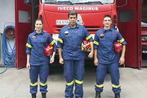 Δόκιμοι πυροσβέστες στην Π.Υ. Γουμένισσας