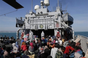 Ιταλία: Τερματίζεται η επιχείρηση Mare Nostrum του Πολεμικού Ναυτικού