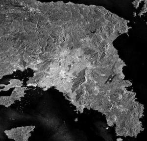 Η γη από το διάστημα: Η Αττική στο ραντάρ του δορυφόρου