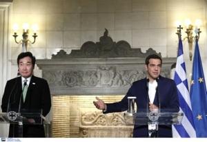 Τσίπρας: Εξαιρετικά σημαντική η σχέση της Ελλάδας με τη Ν. Κορέα