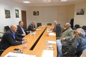 Σύσκεψη με Κ. Κιλτίδη για την Αγροδιατροφική
