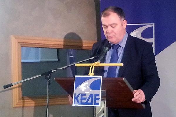 Εφαρμογή του νόμου  στα σύνορα Ειδομένης ζητά ο Χρ. Γκουντενούδης
