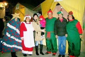 Χριστουγεννιάτικο Χωριό στις Μάνδρες