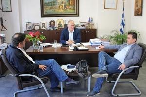 Συνάντηση Ν.Ε. ΣΥΡΙΖΑ με πρόεδρο Επιμελητηρίου