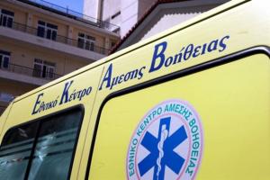 Χανιά: «Βουτιά» σε γκρεμό έκανε αμάξι με 2 επιβάτες