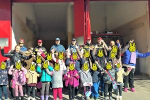 Τα νήπια της Γουμένισας ενημερώθηκαν για το έργο της Πυροσβεστικής