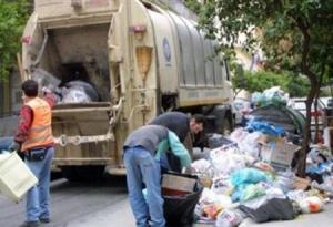 Χωρίς ιδιαίτερα προβλήματα  η αποκομιδή των σκουπιδιών
