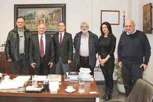 Επισκεψη Τούρκου Εμπορικού Ακόλουθου στο Επιμελητήριο Κιλκίς