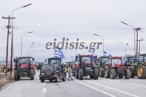 Κλειστός ΤΩΡΑ και ο κόμβος του Χέρσου από νέο μπλόκο αγροτών
