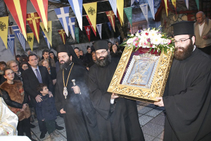 Η Ιερή Εικόνα της Παναγίας Φανερωμένης εκ Ροδόπης στο Κιλκίς