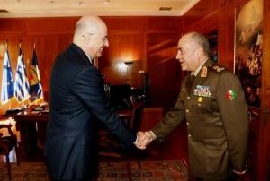 «Πρόσω ολοταχώς» στη στρατιωτική συνεργασία Ελλάδας - Αιγύπτου