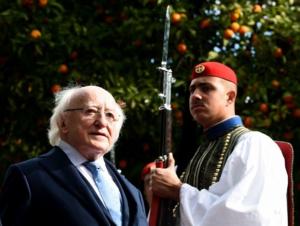 Δεύτερη μέρα του Προέδρου της Ιρλανδίας στην Αθήνα