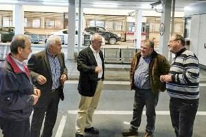 Επίσκεψη Μάρδα στο συνοριακό σταθμό των Ευζώνων