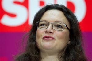Γερμανία: Αντρέα Νάλες στο τιμόνι του SPD