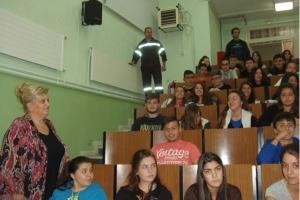 ΓΕΛ Αξιούπολης: Καθηγητές και μαθητές ευχαριστούν την Πυροσβεστική