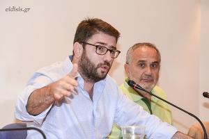 Ανδρουλάκης: Η δημοκρατική παράταξη να αγκαλιάσει ξανά τη λαϊκή βάση που εξαπάτησε ο κ. Τσίπρας