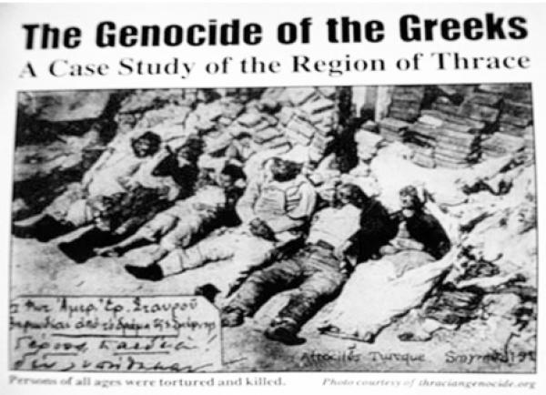 H Γενοκτονία του Θρακικού Ελληνισμού 6 Απρίλη 1914 - το «Μαύρο Πάσχα» των Θρακών