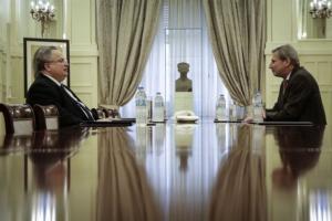 Νέα συνάντηση Κοτζιά με Ντιμιτρόφ και Νίμιτς στη Βιέννη για το Μακεδονικό