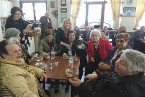 Οικογενειακή γιορτή στο ΚΑΠΗ του Κιλκίς