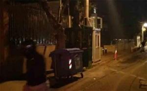 Επίθεση Ρουβίκωνα στην πρεσβεία της Σαουδικής Αραβίας [Βίντεο]