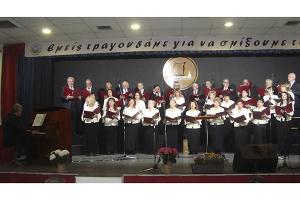Ενθουσίασε το φιλόμουσο κοινό του Περάματος Αττικής, η χορωδία του Πολιτιστικού Μουσικού Συλλόγου Κιλκίς