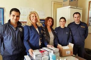 """Οι αστυνομικοί μας ευχαριστούν την """"Ευκράντη"""""""