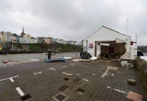 Σοβαρές ζημιές σε Αγγλία, Ουαλία και Ιρλανδία