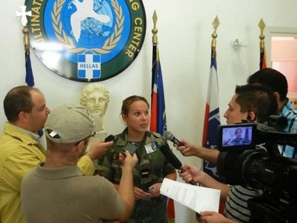 Λειτουργία Σχολείου Εκπροσώπων  Τύπου Ενόπλων Δυνάμεων στο Κιλκίς